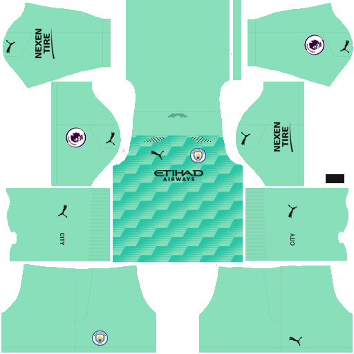 Manchester City 2021 Away GK Kit