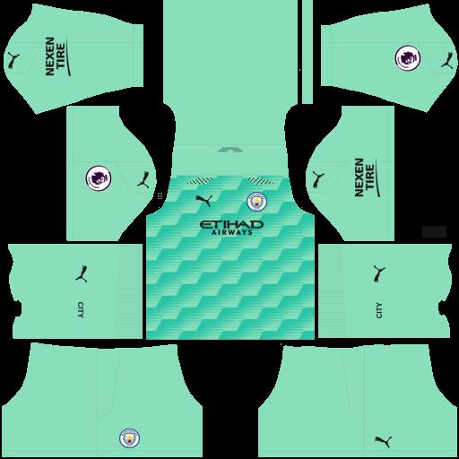 Manchester City 2021 Away GK Kit