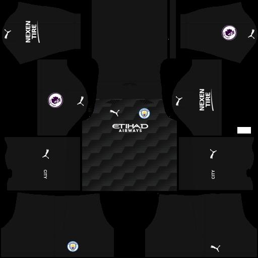 Manchester City 2021 Home GK Kit
