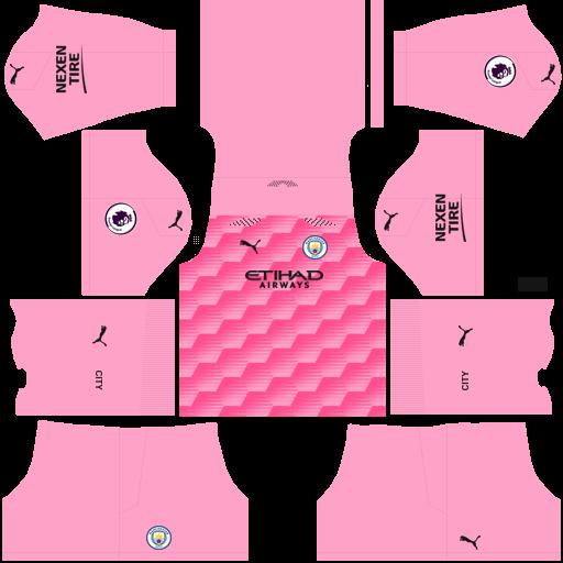 Manchester City 2021 Third GK Kit