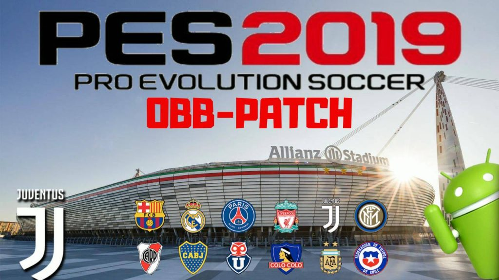 PES2019 Android Ronaldo Patch OBB Download