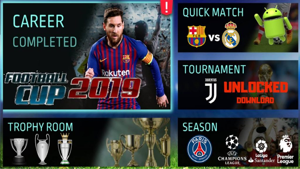 Football Cup 2019 Offline Unlocked Android Game Download