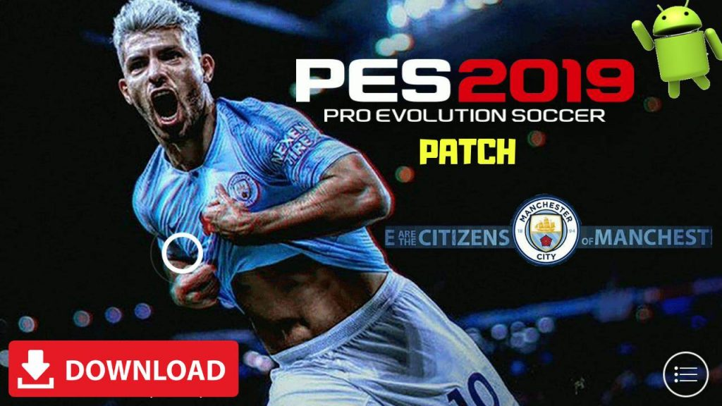 PES 2019 Android Manchester City Patch OBB Download