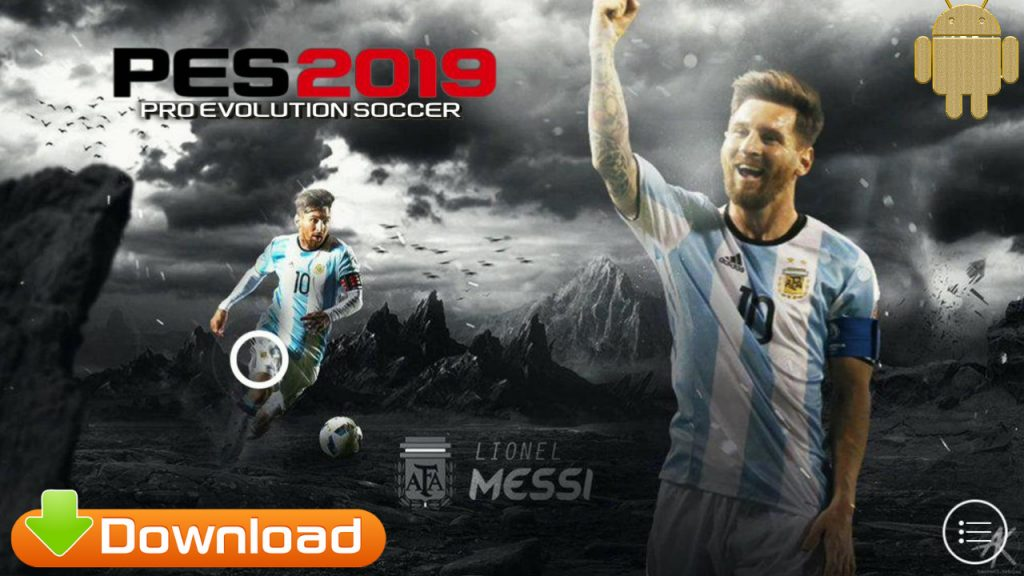 PES2019 Android Messi Patch OBB Download