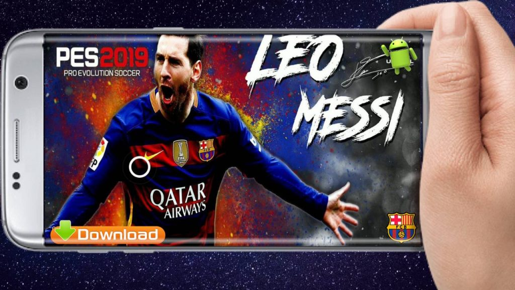 Messi PATCH PES 2019 Android Mobile APK OBB Download