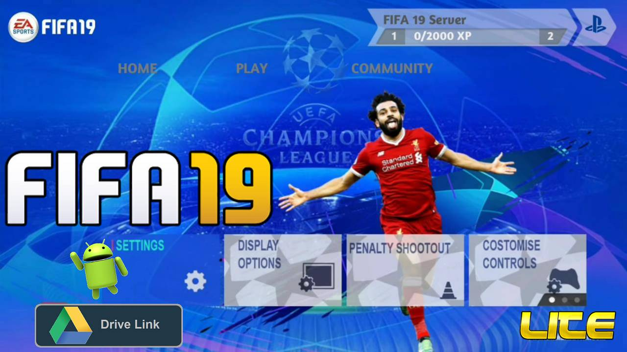Download FIFA 2019 Mobile UCL Android Offline Game