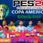 PES 2019 Android Patch COPA AMERICA Brasil 2019 Download