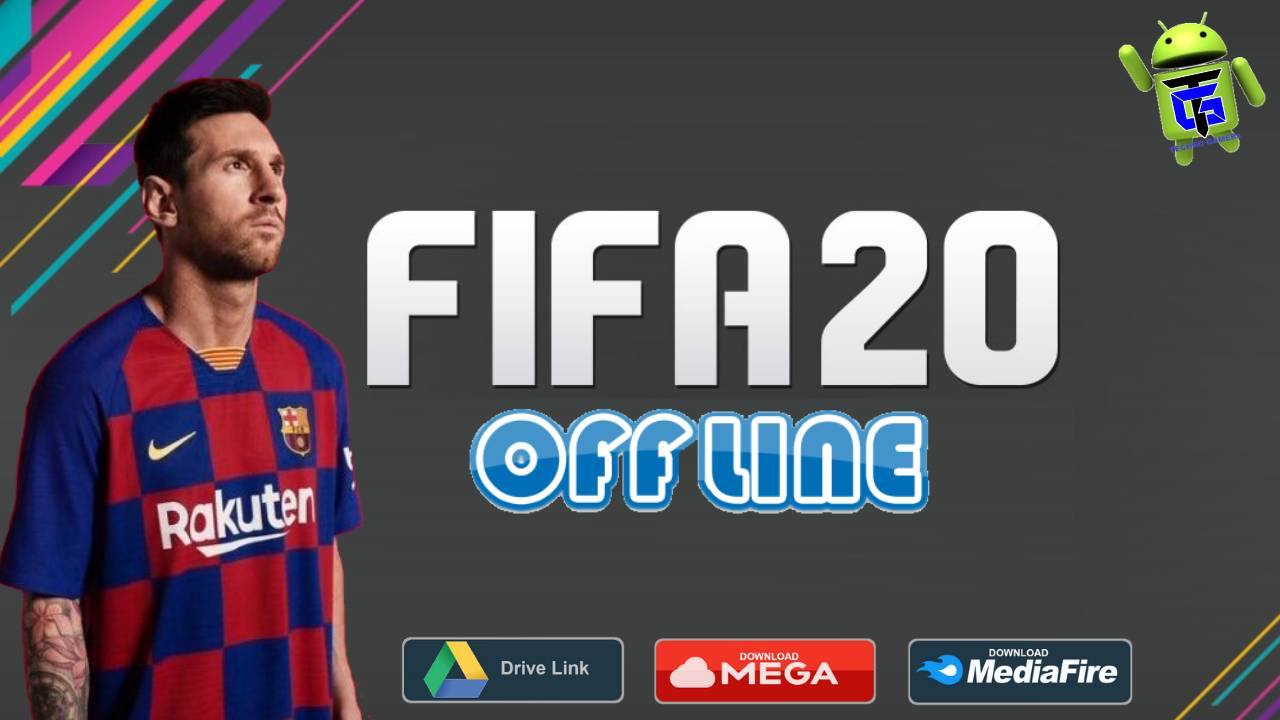 FIFA 20 Mod Offline Android APK New Kits 2020 Download