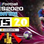 FTS 20 Mod PES 2020 Offline APK OBB Data Download