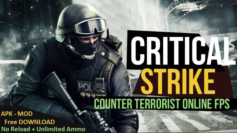 Critical Strike CS Apk MOD Unlocked Money Android Download