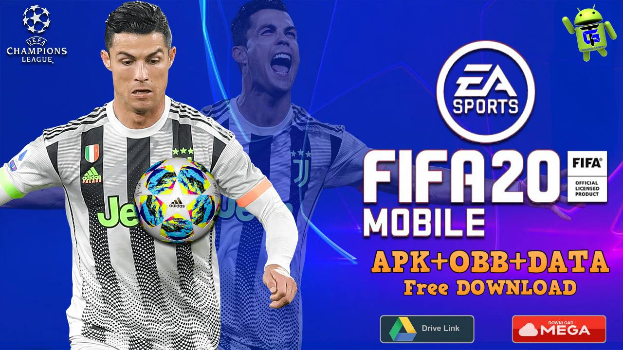 Best Mod 2020.Fts 2020 Mod Fifa 20 Offline Apk Obb Data Download