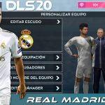 DLS 20 Mod APK Team Real Madrid 2020 Download