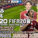 FTS 20 Mod FIFA 2020 APK OBB DATA Update Transfer Download