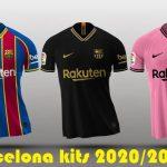 Barcelona New Kits for season 2020-2021