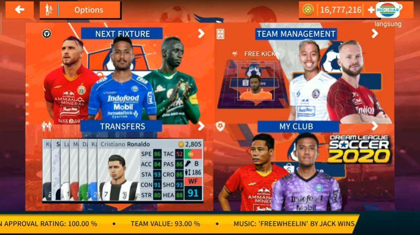 DLS 20 Mod APK Best Player Shopee Liga Update 2020 Download