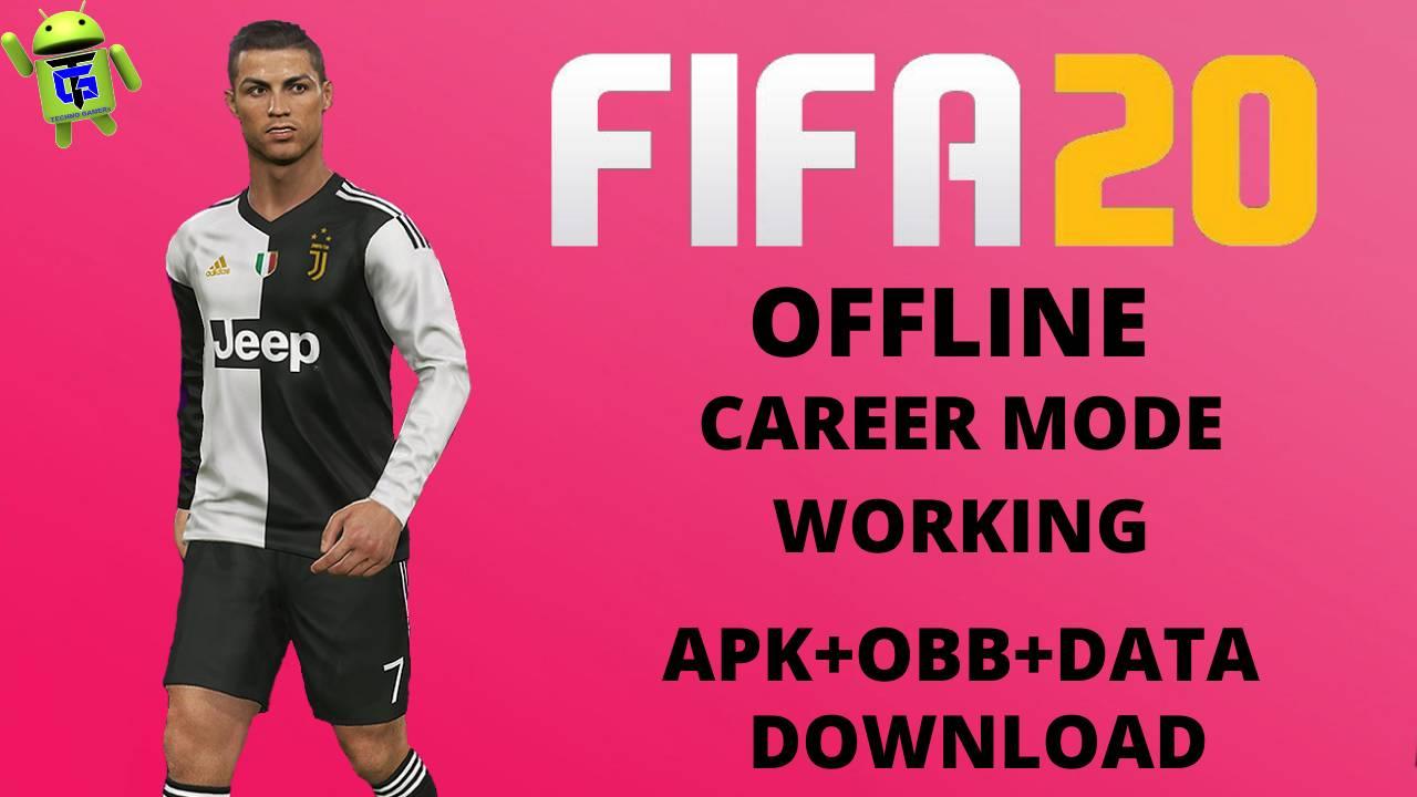 FIFA 20 Offline MOD APK Career Mode Download