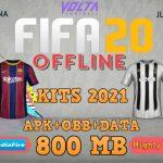 Volta FIFA 20 Offline Android Update New Kits 2021 Download
