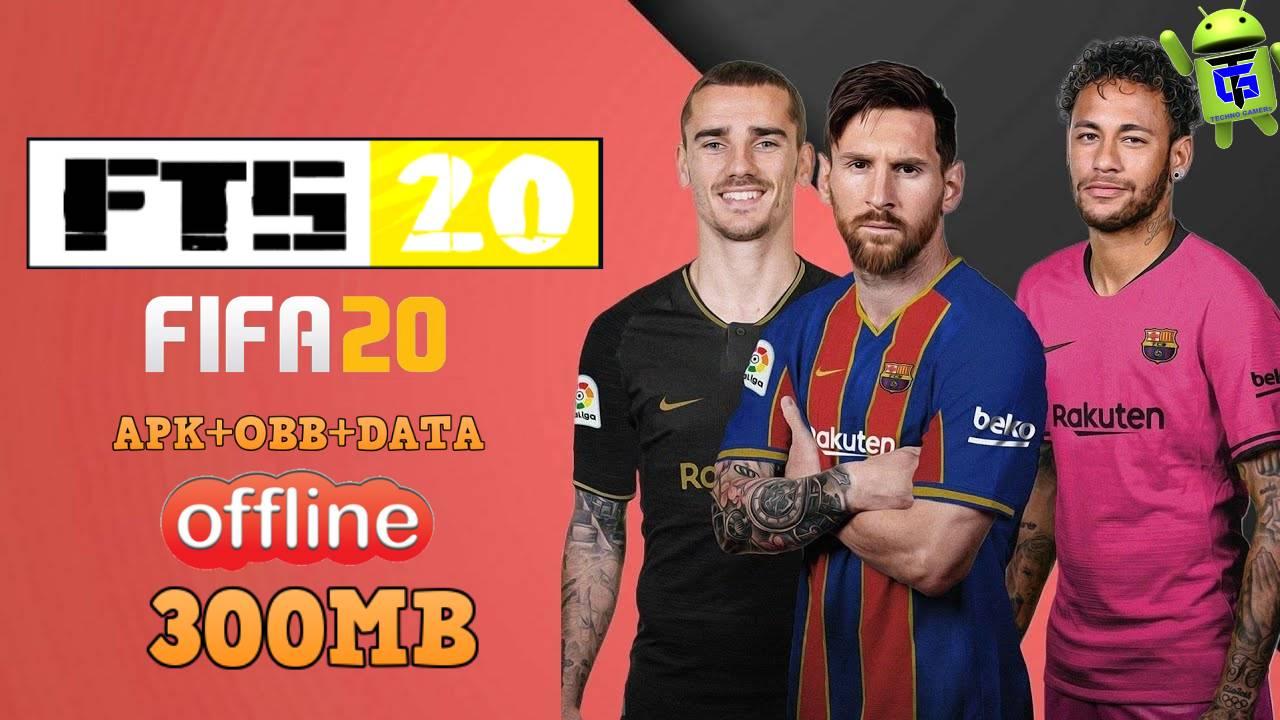 Fc Barcelona New Kits 2021 Dls 20 Logo: FTS 20 Mod FIFA 20 Offline APK New Kits 2021 Download