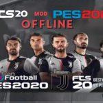 FTS 20 Mod PES 2020 Offline APK Juventus Transfers Download