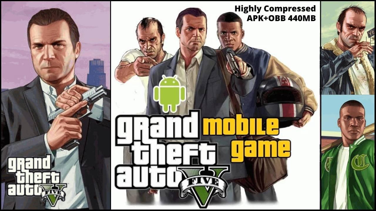 GTA 5 APK Mobile Highly Compressed Download