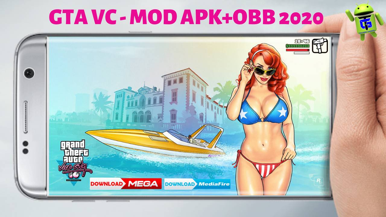 GTA Vice City 2020 MOD APK OBB Highly Compressed
