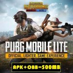 PubG Lite Mod APK OBB Download
