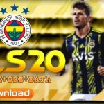 DLS 20 Mod APK Data Fenerbahce Kits 2021 Download