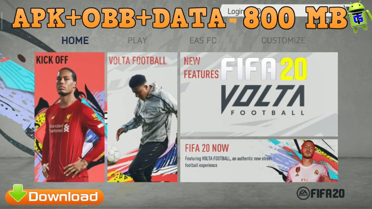 FIFA 20 Android Mod APK English New Kits 2021 Download