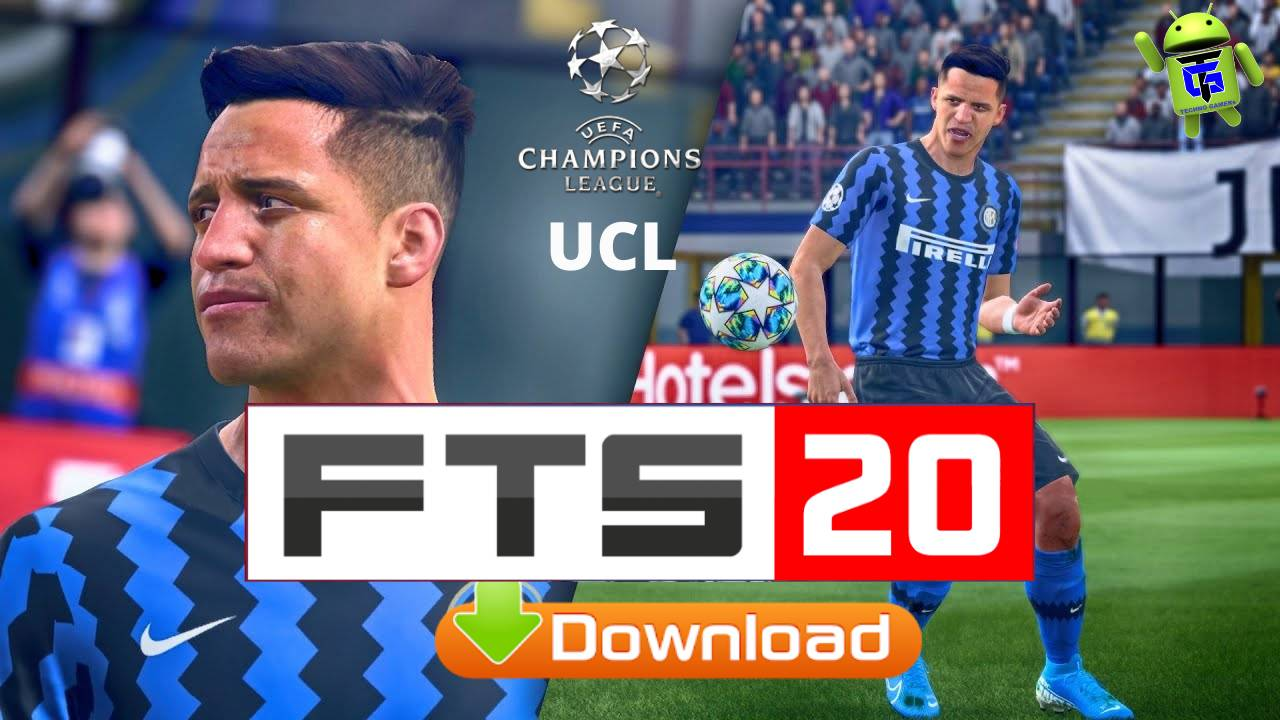 FTS 20 UCL Mod APK Obb Data kits 2021 Download