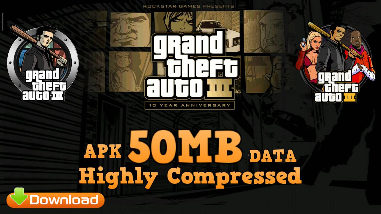 GTA 3 Lite Mod APK 50MB Download