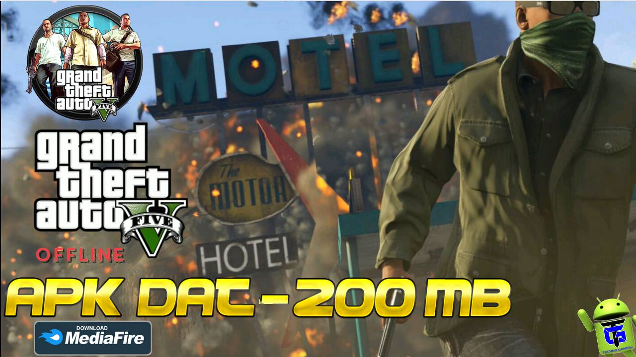 GTA 5 Lite APK Mod Data 200MB Download