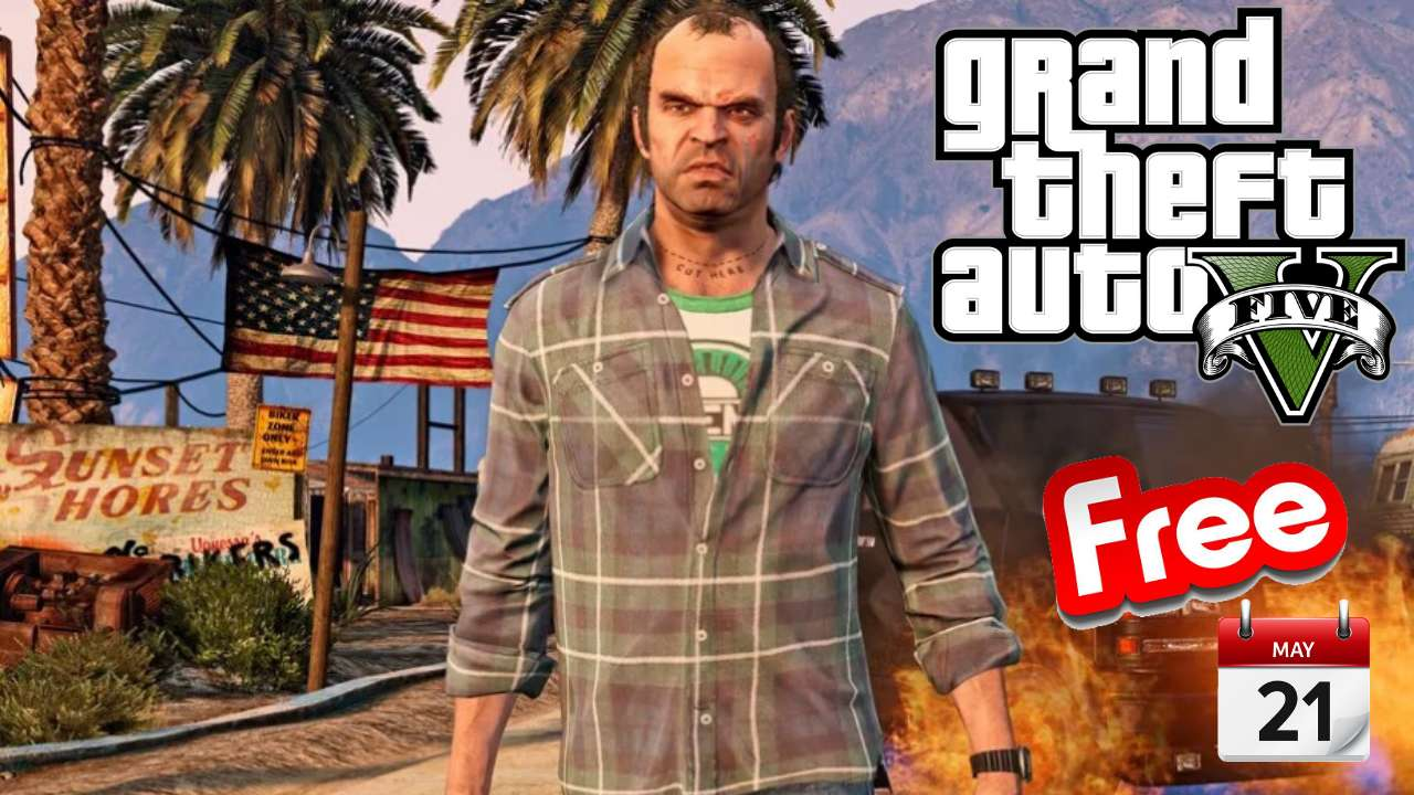 GTA 5 The Epic Games Store free for everyone on may