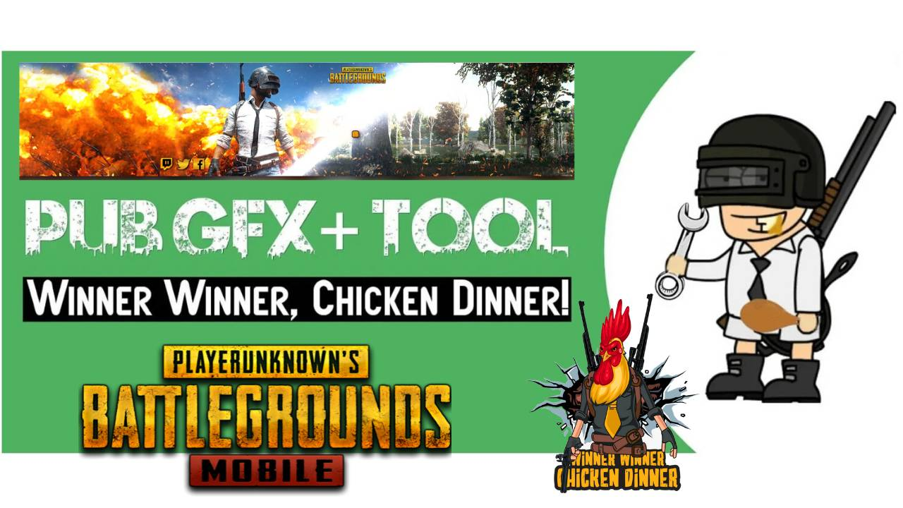 PubG Pro APK ToolKit Graphics Winner Download