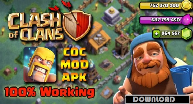 Clash Of Clans 2020 MOD APK Unlimited Coins Download