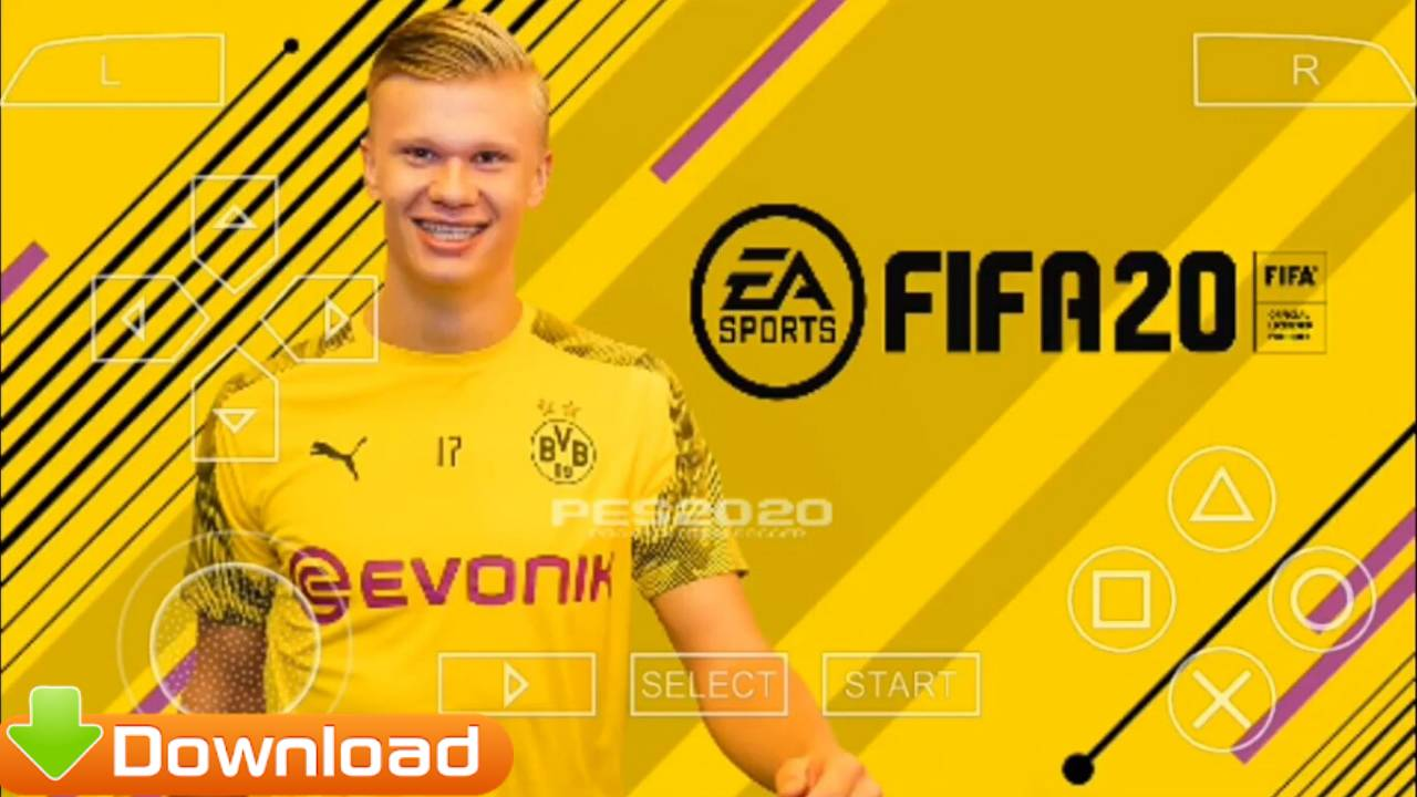 Download FIFA 20 PPSSPP Mod PES Offline For Android