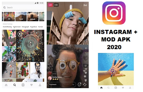 Instagram Plus Mod APK 2020 Unlocked Download