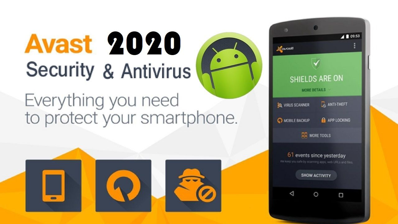 Avast AntiVirus Pro Apk 2020 Android Mobile Security