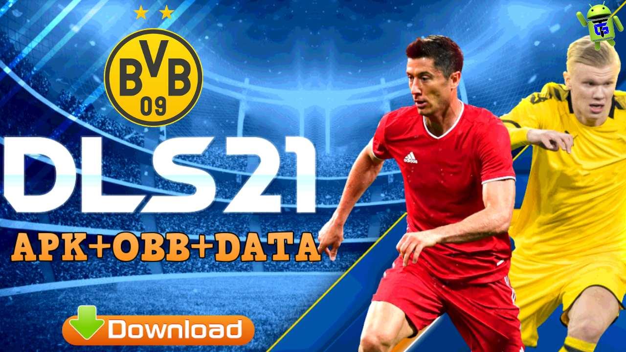 DLS 21 Mod Apk Borussia Dortmund Data Download