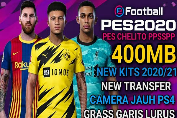PES 2020 Chelito Mod EURO Update Transfers 2021 Download