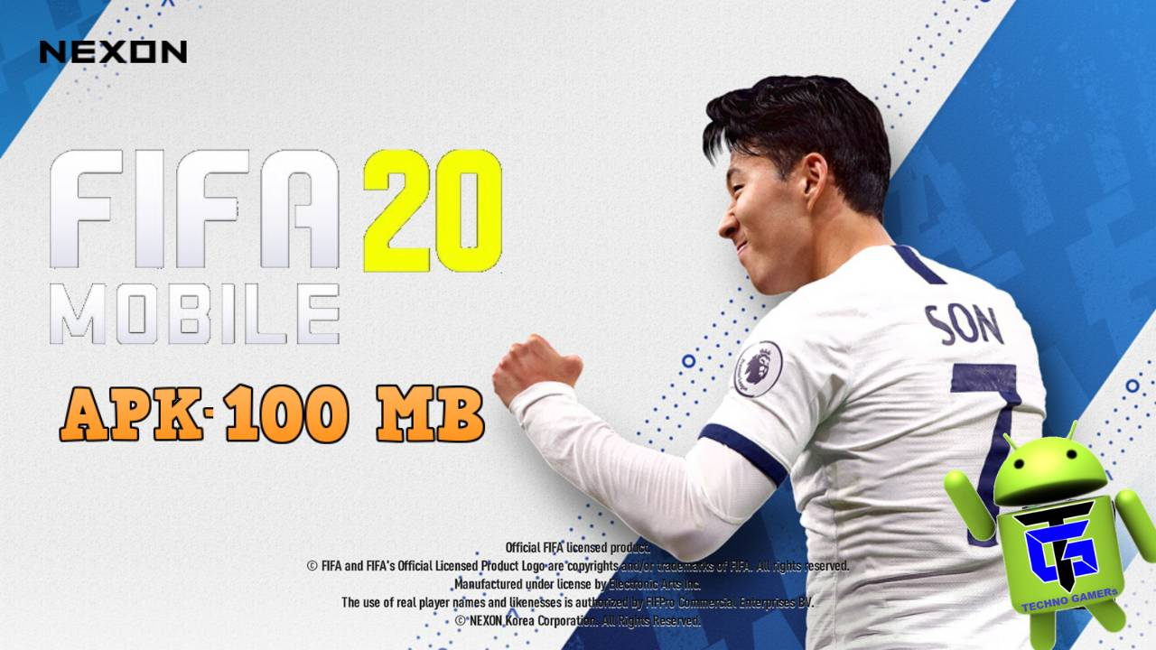 FIFA 20 Mobile Chinese Editio APK 100MB Download