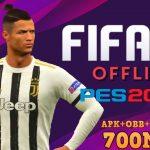 FIFA 20 Mod PES 2020 Offline APK OBB Data Download