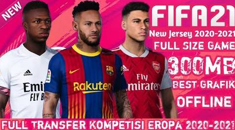 First Touch Soccer Mod FIFA 21 APK OBB DATA Download