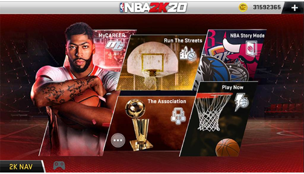 NBA 2k20 mod apk obb unlimited money