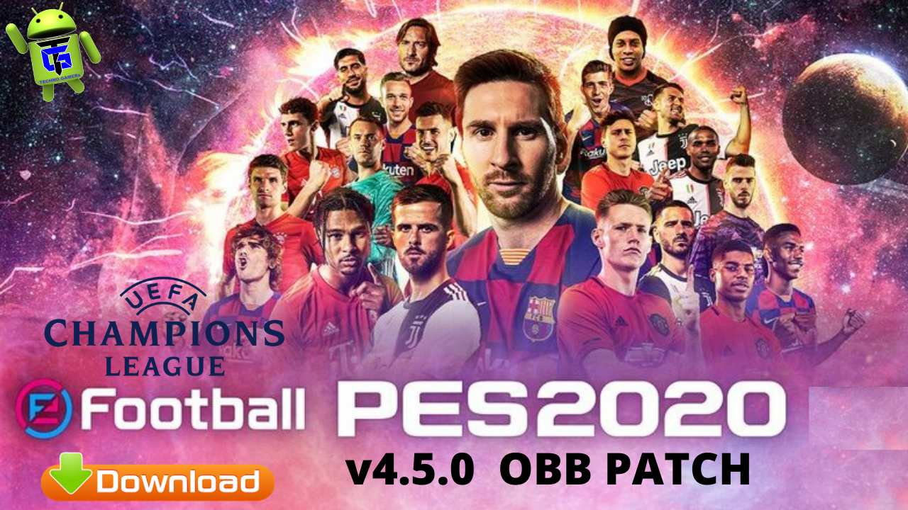 PES 2020 PATCH OBB v4.5.0 UEFA Android Download
