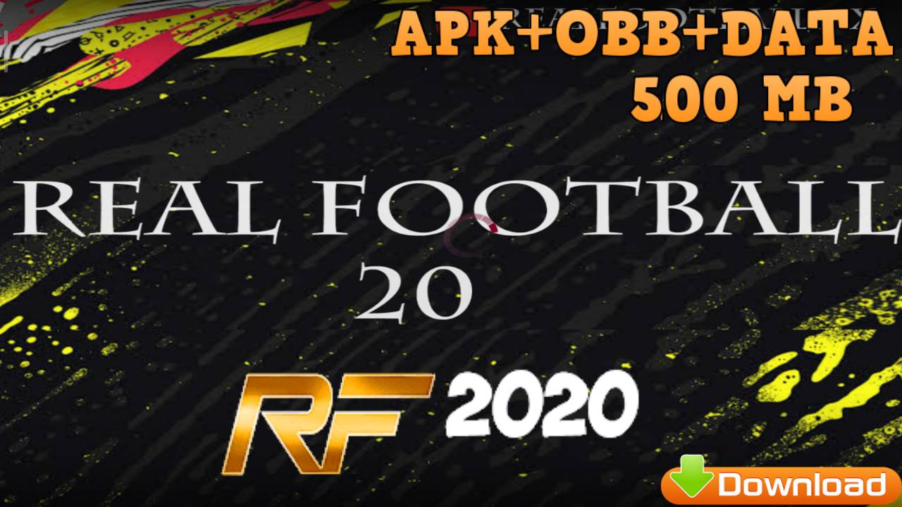 RF2020 Real Football 2020 Mod Fifa 20 Android Offline Download