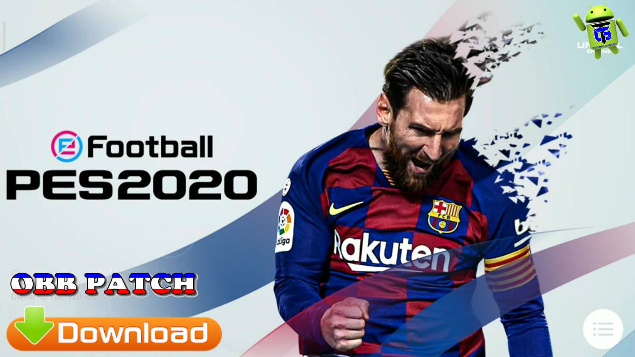 eFootball PES 2020 Patch APK+OBB Data Download