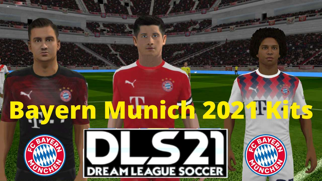 Bayern Munich 2021 Kits DLS 20 - Dream League Socce