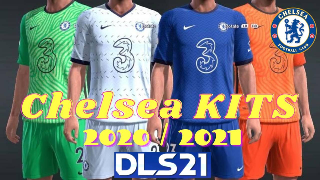 DLS 21 Chelsea Kits 2021 Dream League Soccer