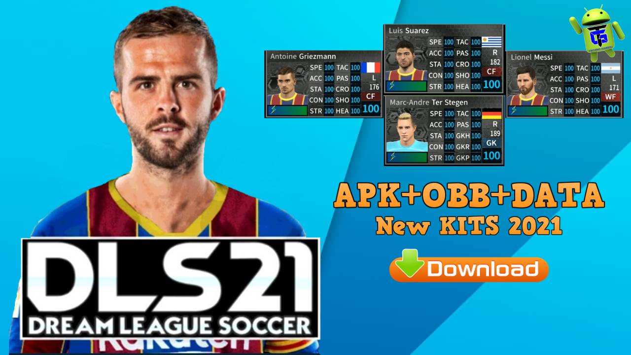 Dream League Soccer 2021 Android Data Barcelona Download