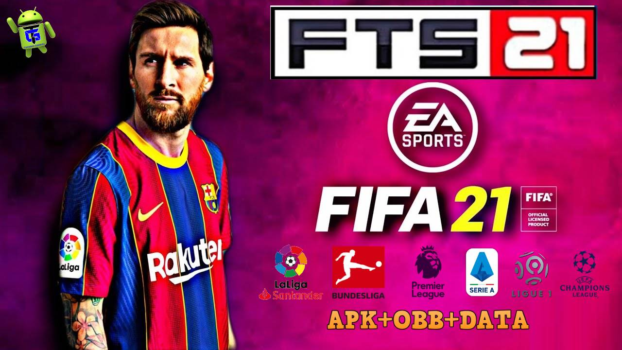 FTS 15 Mod FIFA 2021 APK OBB Data Download